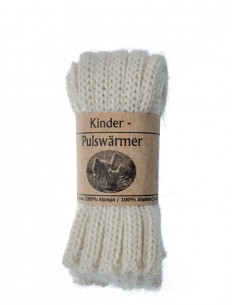 Babybeenwarmer of kinderpolswarmer in wit