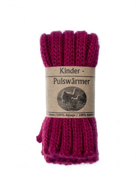 Babybeenwarmer of kinderpolswarmer in fuchsia