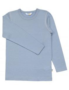Longsleeve in lichtblauw (wol)