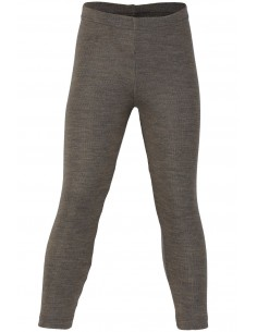 Legging in walnoot  (wol-zijde)