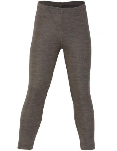 Legging in walnoot  (wol-zijde)