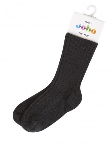 Sokken in wol in zwart