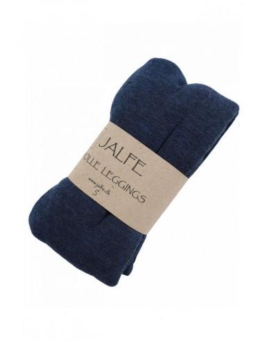 Leggings Jalfe in blauw ajour (wol)
