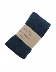 Leggings Jalfe in groen ajour (wol)