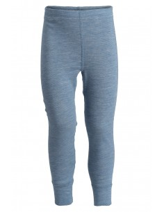 Legging in jeanskleur (wol-zijde)