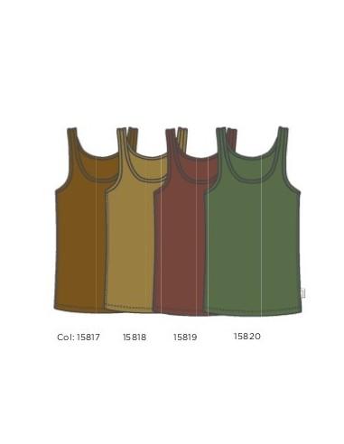 Alle hemdjes in de nieuwe kleuren