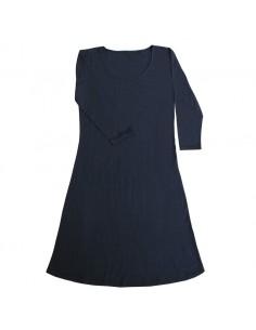 Jurkje in marineblauw (wol)