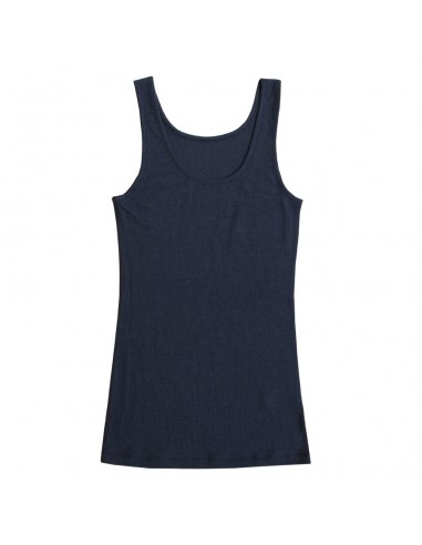 Hemd in marineblauw (wol)