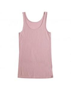 Hemd in plumroze (wol)