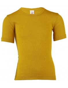 T-shirt in saffraangeel...