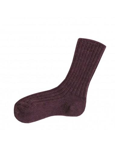 aubergine paarse sokken