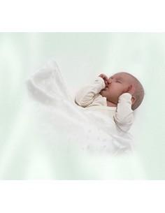 Zijden babydoekje of Pochette