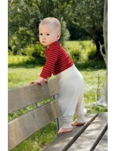Babybroekje wol-zijde