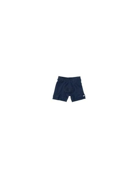 Boxershort in blauw (wol)