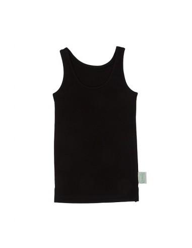 Hemd in zwart (Coconelle zijde)