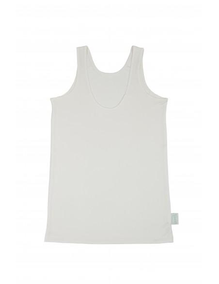 Hemd in ivoor wit (Coconelle zijde)
