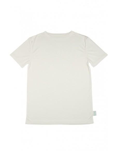 T-shirt in naturel (Coconelle zijde)