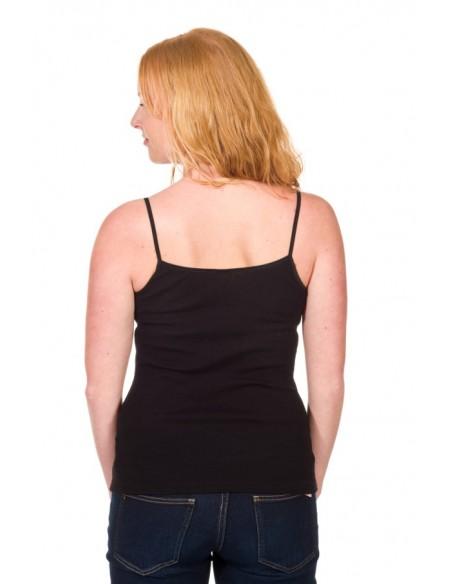 Hemdje in zwart (wol-zijde)