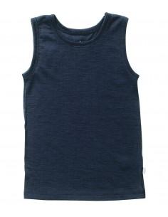 Hemd in blauw (wol)