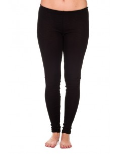 Legging in zwart (wol)