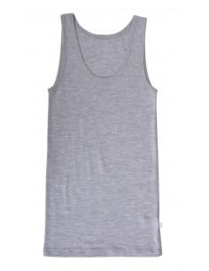 Hemd in grijs (wol)