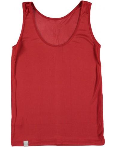 Hemd in granaatappel rood (Coconelle zijde)