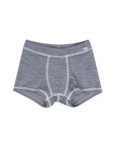 Boxershort in grijs (wol)