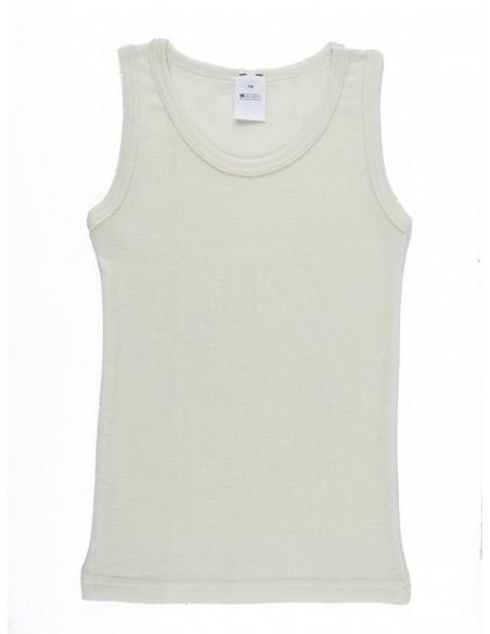 Hemd in naturel (wol-zijde)