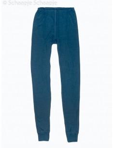 Leggings in prachtig navy (wol-zijde)