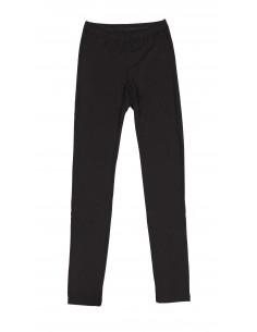Leggings in zwart (wol-zijde)