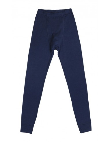 Herenlegging in blauw (wol)