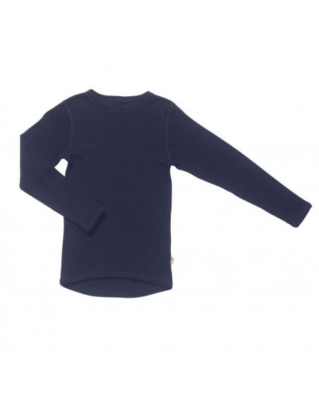 Longsleeve in blauw (wol)
