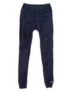 Legging in blauw (wol)