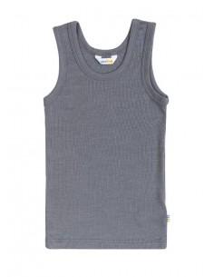 Hemd in grijs (wol-zijde)