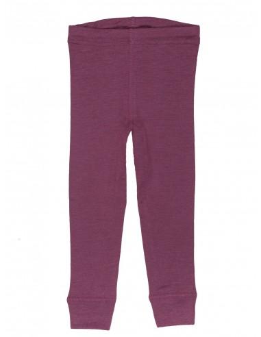 Legging in fuchsia (wol-zijde)