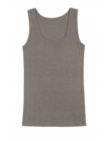 Hemd in sesam kleur  (wol-zijde)